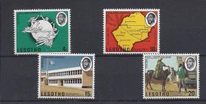 Lesotho, 166-69,Universal Postal Union (UPU) Singles,**MNH**
