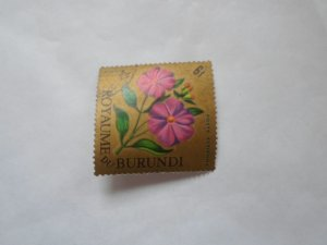 burundi stamp cto og mint hinged. # 1