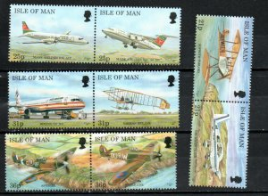 Isle of Man 744-751 MNH