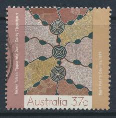Australia SG 1150  SC# 1087  Used / FU  Aboriginal Art of Desert