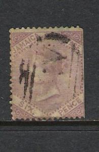 JAMAICA 5 VFU  VICTORIA N197
