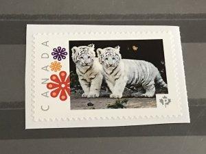 Canada Post Picture Postage * Baby Albynos Tiger * *P* denomination