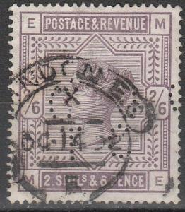 Great Britain #96 F-VF Used  CV $165.00  (S8027)