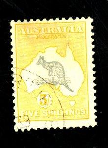 AUSTRALIA #126 USED FVF Cat $27
