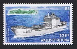 Wallis and Futuna 'Jacques Cartier' Landing Ship SG#773 SC#537