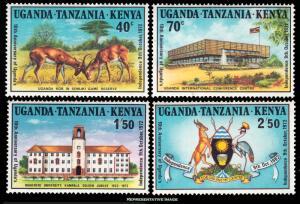 Kenya Uganda & Tanganyika Scott 254-257 Mint never hinged.