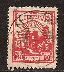 Lithuania  #  209  used