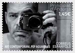 The Stamps Of Andorra (Spain) 2020 Contemporary Art - Pep Aguareles - Mint.