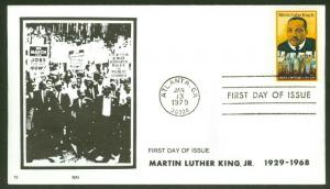 MARTIN LUTHER KING JR FDC SUN CACHET