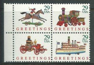 1992 USA Scott Catalog Number 2714a Unused Never Hinged