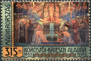 Hungary 2013. 150th Birth Anniversary of Körösfői-Kriesch Aladár (MNH OG) Stamp