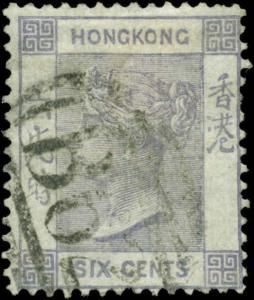 Hong Kong Scott #12 Used