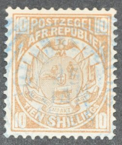 DYNAMITE Stamps: Transvaal Scott #134  – USED