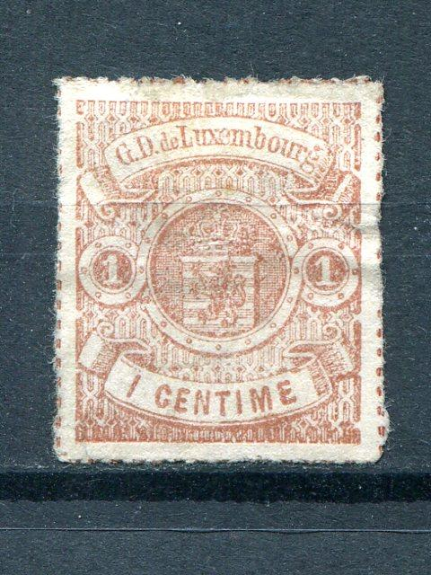 Luxembourg #17  Unused  VF - Lakeshore Philatelics
