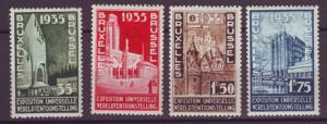 J21310 Jlstamps 1935 belgium set mh #b258-61 exhibition