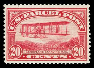 Scott Q8 1913 20c Parcel Post Issue Mint VF OG LH Cat $110