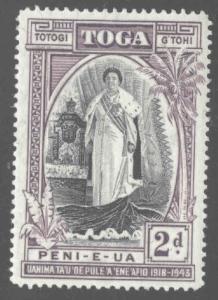 TONGA  Scott 83 MH* 1944 stamp