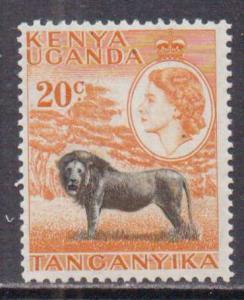 Kenya,Uganda,Tanz.  #107  MNH  (1954)  c.v. $2.00