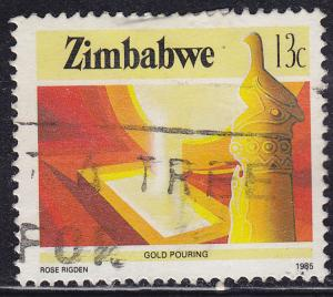Zimbabwe 500 USED 1985 Agriculture & Industry