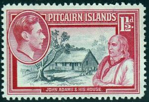 Pitcairn Islands #3 Pitcairn School, 1940. Unused, HM,PM