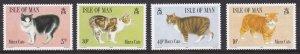 Isle of Man, Fauna, Animals, Cats MNH / 1989