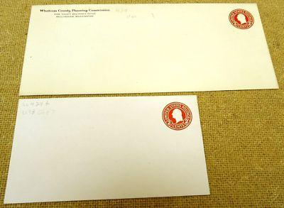 U429, 2c U.S. Postage Envelopes qty 2