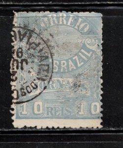 BRAZIL Scott # P23 Used - Newspaper Stamp