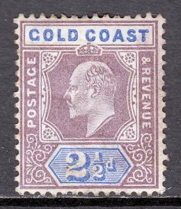 Gold Coast - Scott #41 - MH - Toning, disturbed gum - SCV $5.50