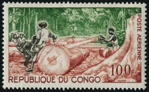 Congo PR C17 MNH Timber Industry