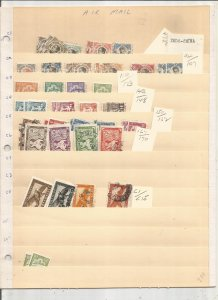 INDO CHINA COLLECTION ON STOCK SHEET, MINT/USED