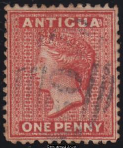 Antigua & Barbuda (until 1981) Antigua #14 Used Stamps