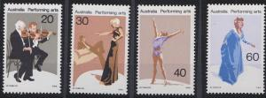 Australia 655-658 MNH (1977)