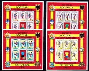 [60850] Turks & Caicos Islands 1982 World Cup Soccer Football Spain MNH