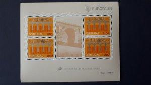 Europa CEPT - Portugal 1984. ** MNH Block