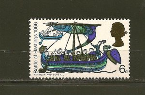 Great Britain 476 Battle of Hastings MNH