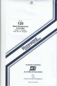 SHOWGARD BLACK MOUNTS 243/120 (7) RETAIL PRICE $11.95