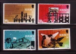 Jersey Sc 540-3 1990 Literacy Year stamps mint NH