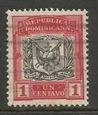 Dominican Republic 125 VFU ARMS W648-3