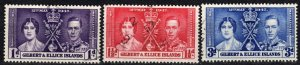 Gilbert And Ellice Islands #37-9    F-VF Used    (X1080)
