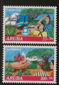ARUBA  SC #  B27 - 8  MNH