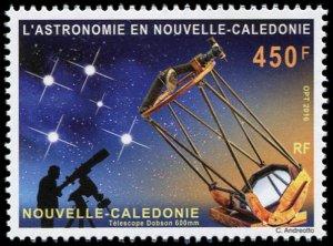 New Caledonia 2016 #1213 MNH. Astronomy
