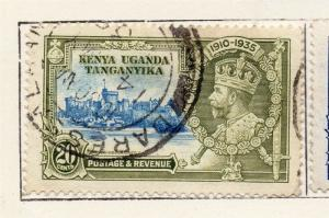 British KUT 1935 Early Issue Fine Used 20c. 270254