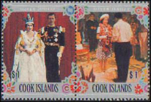Cook Islands #465-467, Never Hinged Complete Set(3)