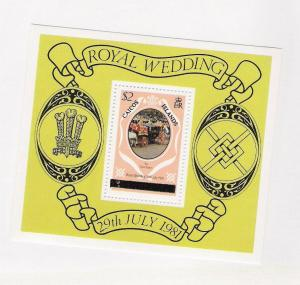 CAICOS ROYAL WEDDING SS 11 MNH