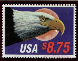 2394 US $8.75 Eagle/Moon, used
