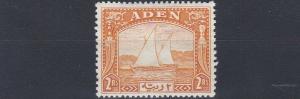 ADEN  1937  S G 10  2R  YELLOW   MNH