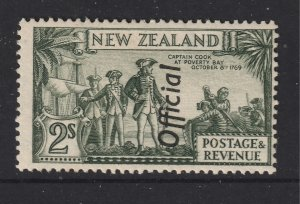 New Zealand a MLH 2/- Official from the 1935 series