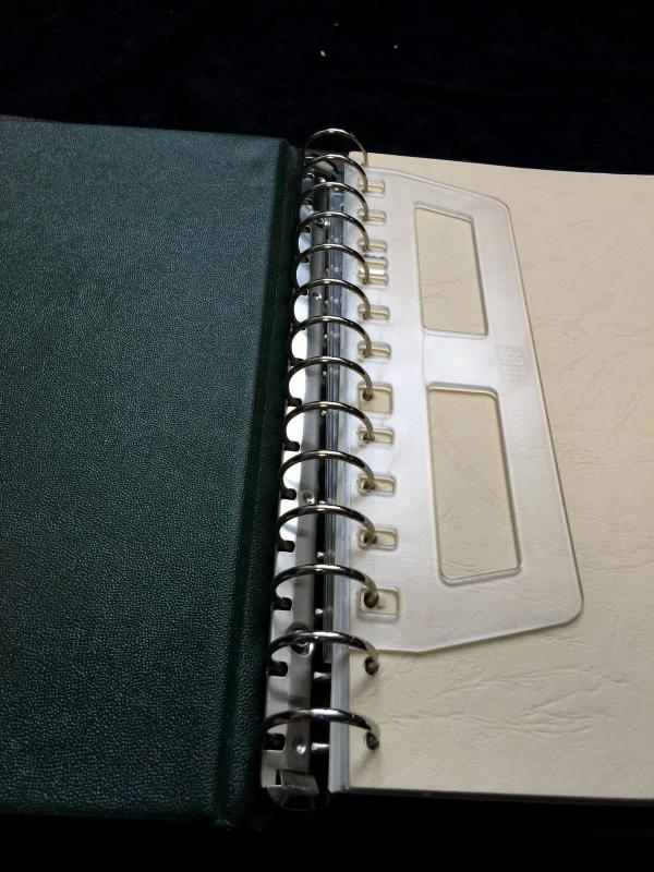 Lighthouse Safe Lindner Binders x 8 (B702)