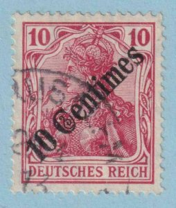 GERMANY OFFICES ABROAD - TURKEY 56  USED - NO FAULTS EXTRA FINE!