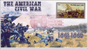 2015, American Civil War, Sesquicentennial, Elmira NY, Stepex,  15-315